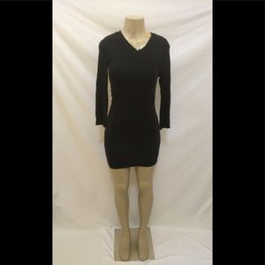 3.1 PHILLIP LIM Size XS Black Body-Con Dress